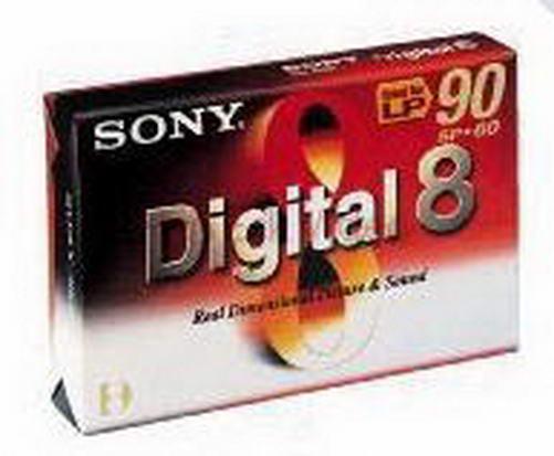 Sony Digital 8 tape N-8 60