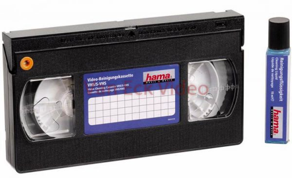 Hama Video Cleaning Cassette VHS / S-VHS