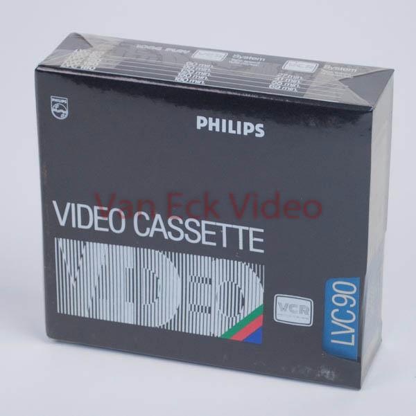 Philips VCR tape LVC90