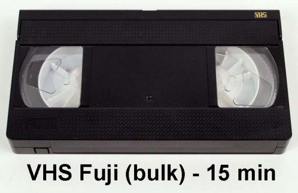 VHS tape Fuji - 15 minuten (bulk)