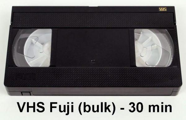 VHS tape Fuji - 30 minuten (bulk)