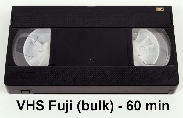 VHS tape Fuji - 60 minuten (bulk)