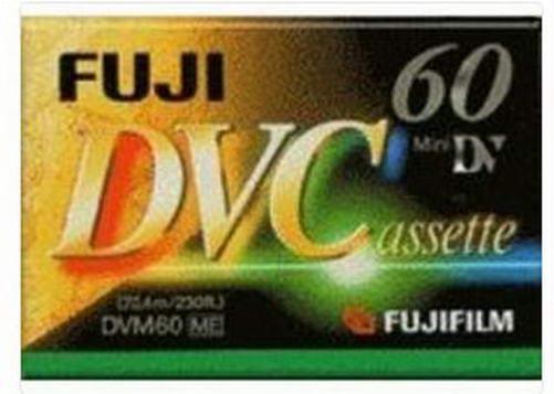 Fujifilm DVC E60 - minidv tape