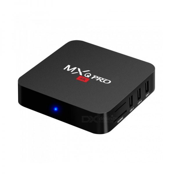 MXQ Pro 4K Android TV Box - Android 7.1 Kodi 17.6 s905w