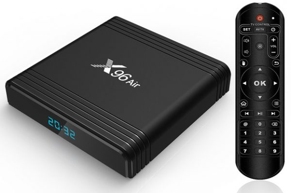 x96 air Android 9.0 TV Box   S905X3   - 4GB/32GB