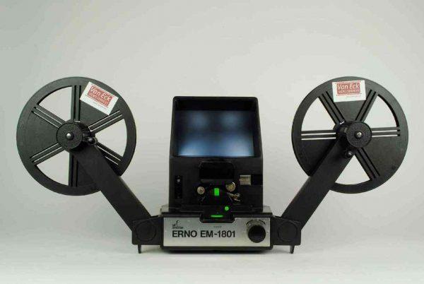 Erno EM-1801 NF (Motor viewer - Super8 films - zonder geluid)