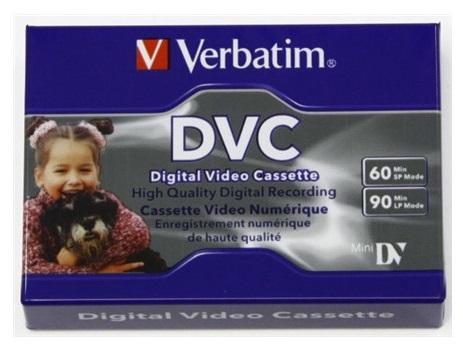 Verbatim DVC - MiniDV tape - 60min - Set van3
