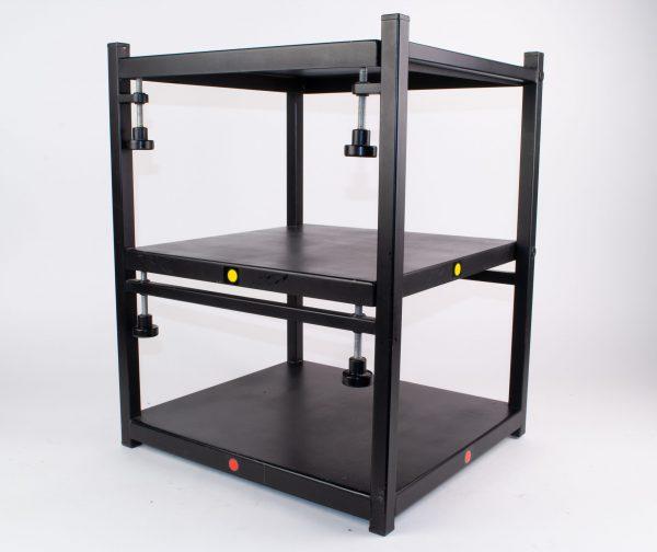 projectie tafel voor 2 dia overvloei projectoren - 36 x 40 x 50 cm