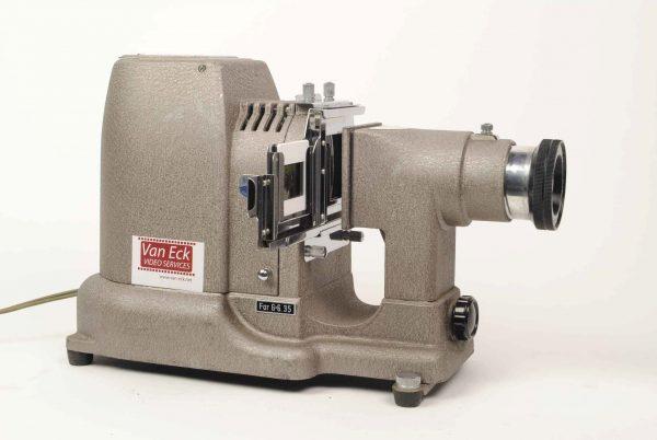 Romanslide PB 300 D (2x2 inch, 6x6cm dia's en 35mm strip film)