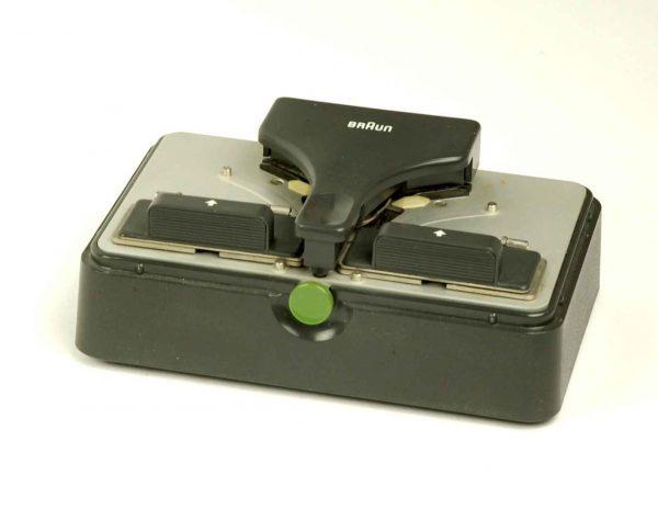 Braun FK1 (single8 en super8) gemotoriseerde plakpers