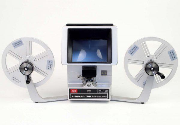 Elmo Editor 912 dual type (alle 8mm film) (zonder geluid)