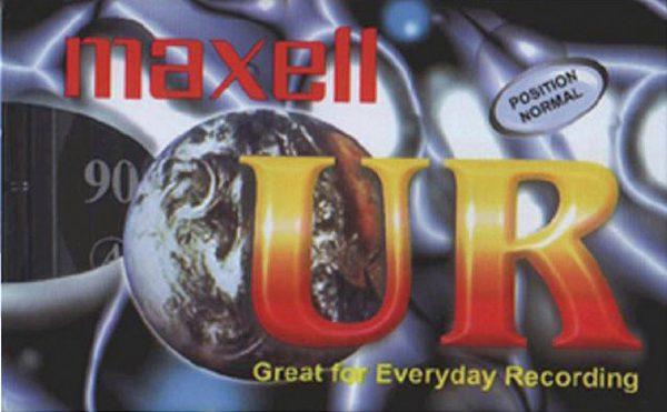 Maxell audiocassette UR 90 minuten