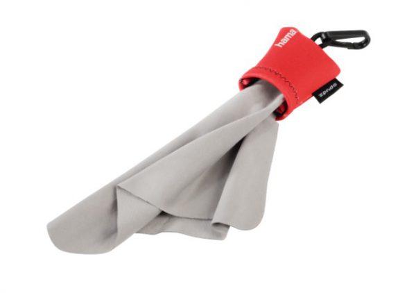 """Hama Microvezel-reinigingsdoek """"Pocket"""", rood"""