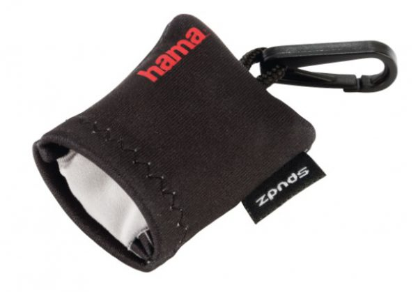 "Hama Microvezel-reinigingsdoek ""Pocket"", zwart"