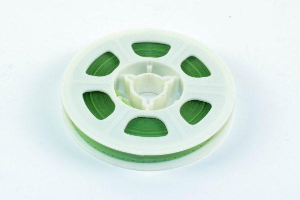 Super8/Single8 Film Leader - semi transparant groen Acetaat - 15m (50ft)