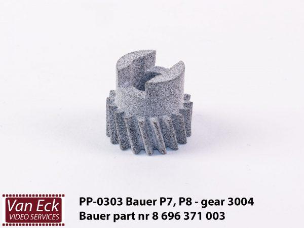 Bauer P7, P8 - gear 3004 - Bauer part nr 8 696 371 003