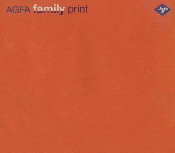 Agfa Family Print Gebruikshandleiding, Talen: Duits Engels Frans Spaans Italiaans Nederlands Deens Zweeds Fins Noors cover