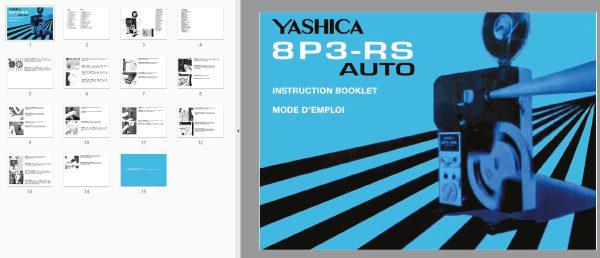 Yashica 8P3-RS AUTO Gebruikshandleiding, Talen: Duits Engels
